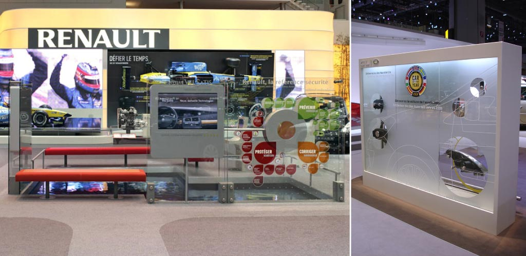 Salon international de l'auto de Genève, Renault F1